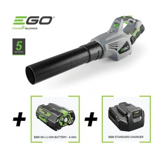 EGO Bladblazer Kit  LB4801E    Promotie Kit (2Ah+std.lader)